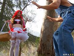Порно красная шапочка
