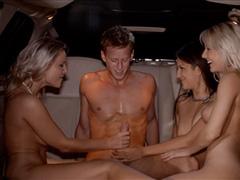 Чумовой секс в лимузине