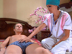 Русская врачиха лечит болезнь «Много спермы»
