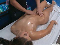 Комплексный массаж для молоденькой девчонки