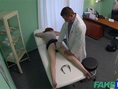 Кончил в рыженькую пациентку