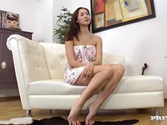 Девушка из Ставрополя аналится на кастинге