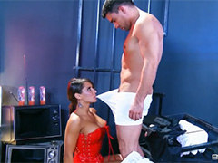Горячий эротический нуру массаж