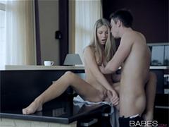 Красивый утренний секс c Анжеликой после чашечки кофе